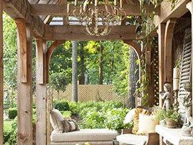 15款木质沙发图片 打造舒适花园