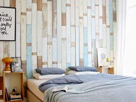 舒适宜家风 17款卧室背景墙效果图