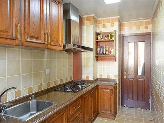 美式风格二居室厨房装潢