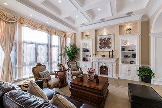 美式风格别墅简洁装修效果图