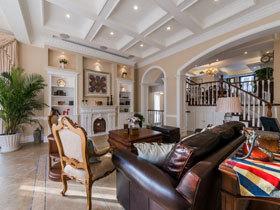 简洁温馨舒适 超经典美式别墅设计效果