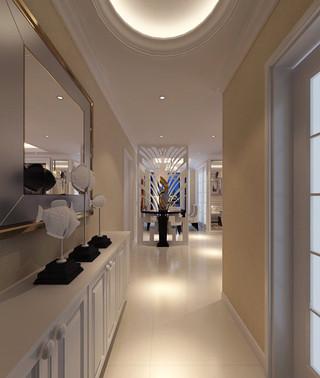 现代简约风格大气玄关走廊装修效果图
