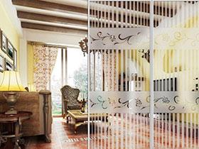 18张玻璃隔断设计图 打造唯美客厅
