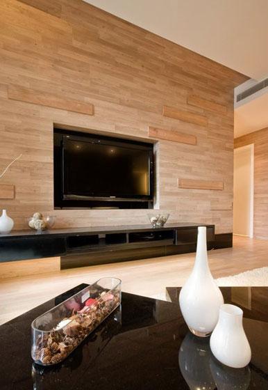 简约风格二居室20万以上90平米电视背景墙婚房设计图