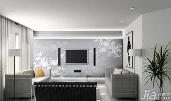 电视背景墙墙绘