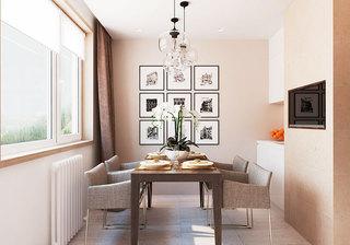 现代简约风格简洁电视背景墙设计