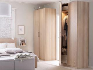 宜家风格舒适衣柜设计