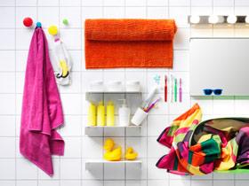 色彩增加动感 15款卫浴挂件设计图