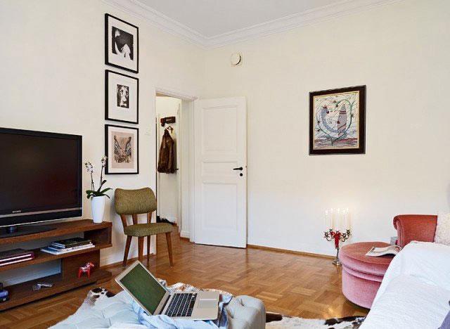 单身公寓温馨5 10万40平米装修图片高清图片