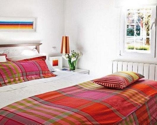 田园风格小户型小清新40平米卧室效果图