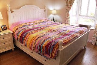 现代简约风格温馨5-10万90平米卧室效果图