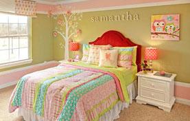 美丽的儿童床设计