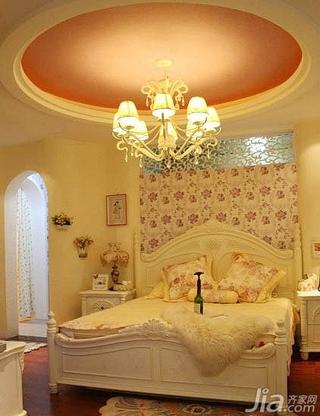 欧式风格卧室吊顶装修效果图 卧室吊顶图片图片