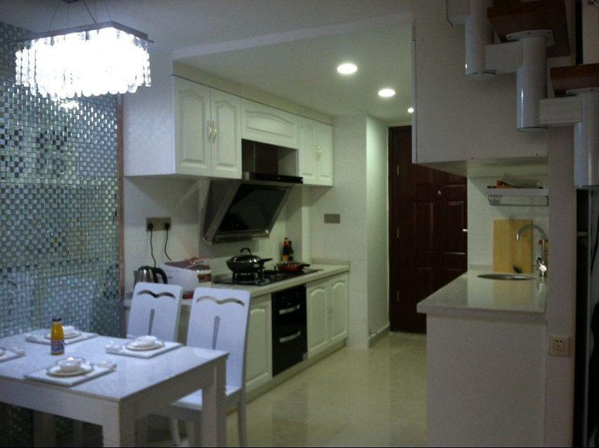 40平小户型loft复式装修效果图大全图片现代简约风格公寓式住宅一楼