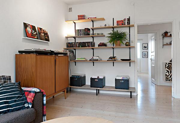 现代简约风格一居室舒适40平米装修图片