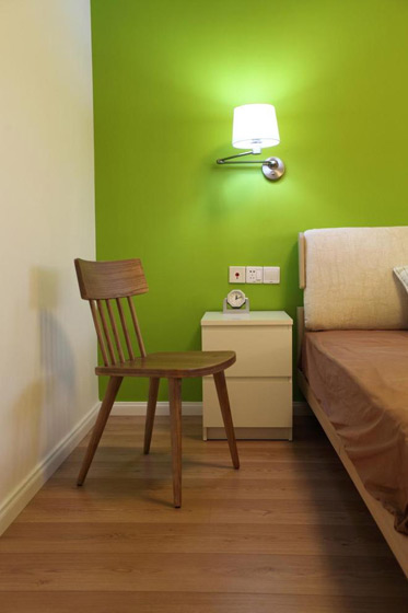 北欧风格三居室小清新5-10万80平米装修图片