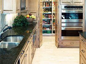 舒适厨房空间 15款地板效果图