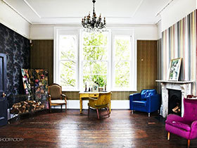 客厅温馨氛围 15款地板效果图