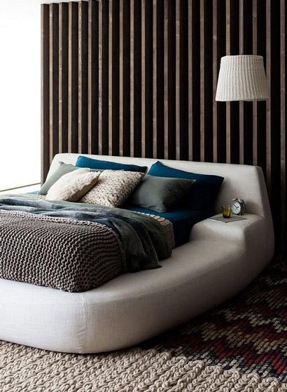 床头软包效果图