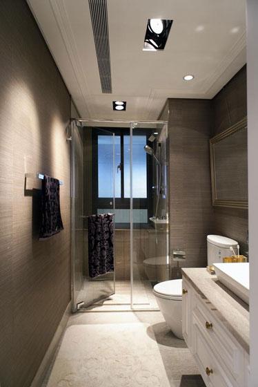 现代简约风格实用卫生间装修效果图