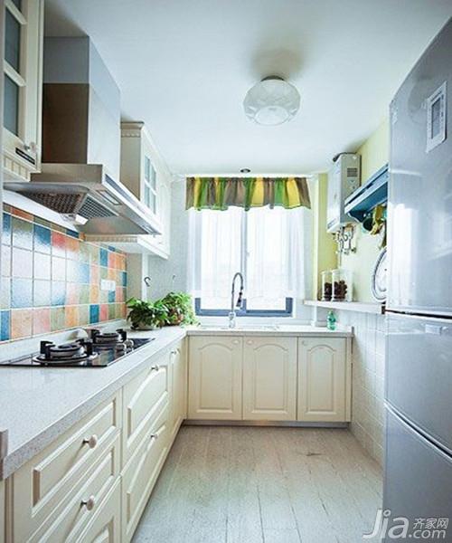 厨房墙砖装修效果图欣赏图片