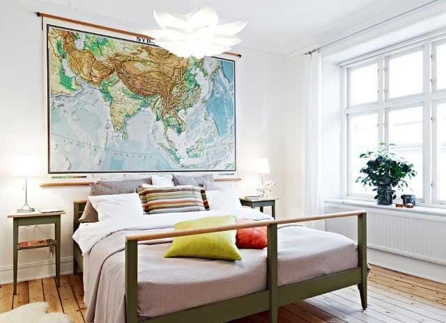 北欧风格卧室设计高清图片