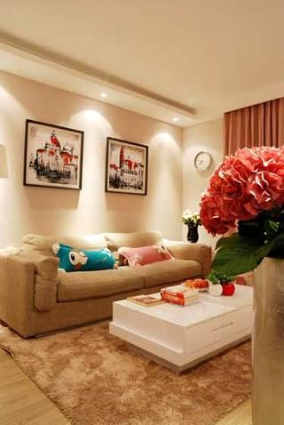 温馨客厅设计效果图