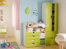 活泼小衣柜 13款儿童衣柜设计图