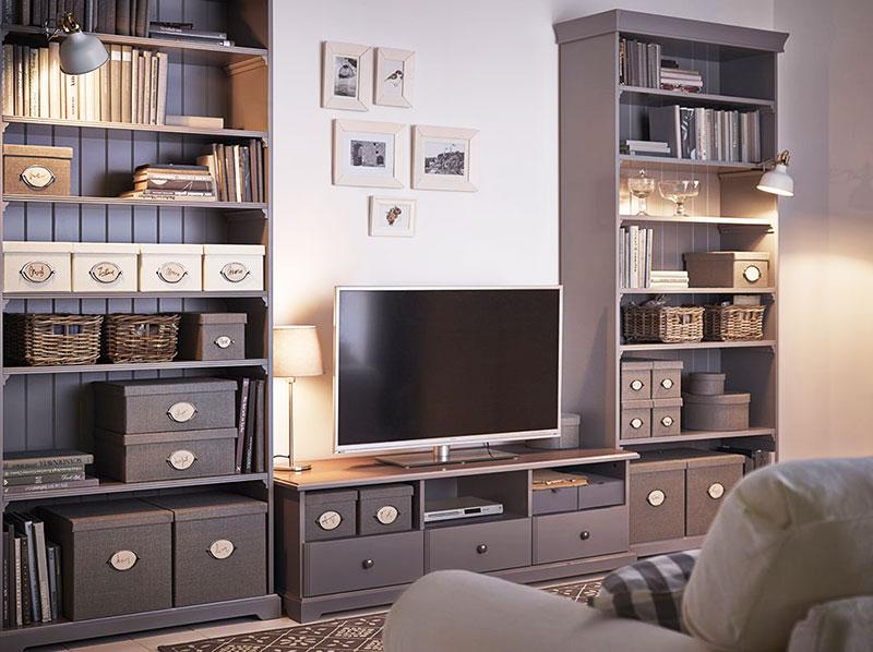 实用宜家风格电视柜图片