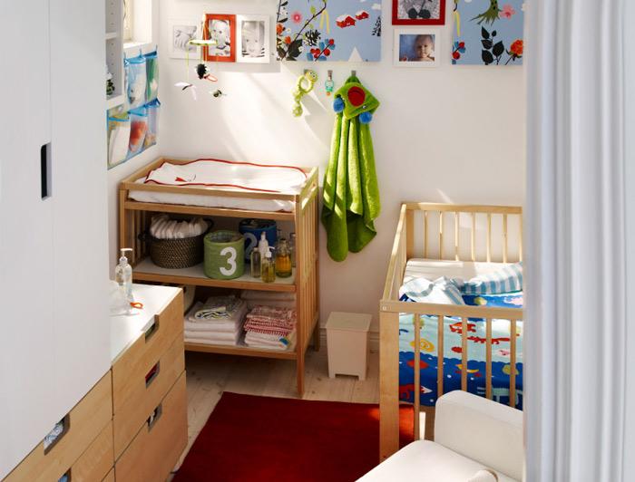 原木儿童床图片