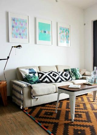 时尚简约客厅设计