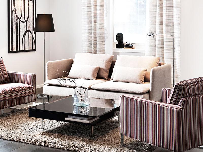 组合宜家沙发效果图