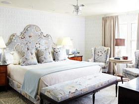 经典舒适实用 12款欧式床头软包设计