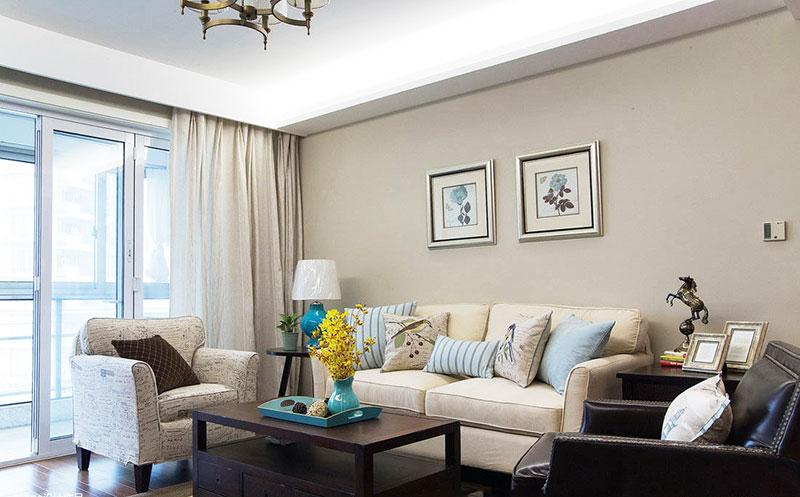 组合沙发小客厅装修效果图