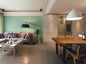 餐厅与客厅的分界线 13张简约风过道设计图