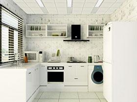 吸顶式油烟机效果图 打造中式无烟厨房