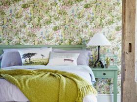 方便实用装饰 12款壁纸卧室背景墙图片