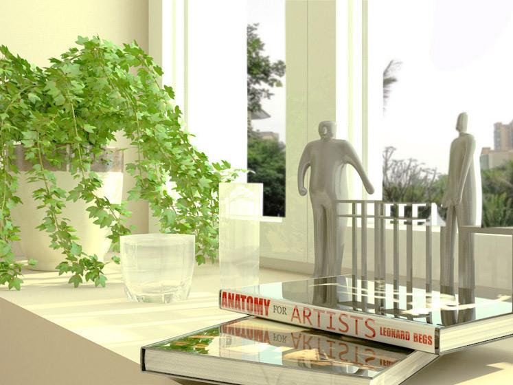 田园风格二居室暖色调5-10万80平米装修效果图