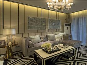 现代简约风格 18万装98平温馨三居室