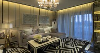 温馨客厅沙发设计效果图