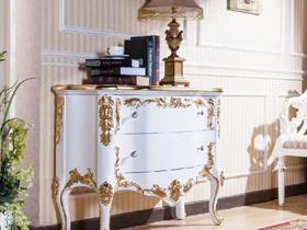 百变欧式风格 12款欧式玄关柜设计