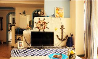 家居空间巧布置 13张电视墙隔断设计图3/13