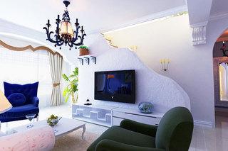 家居空间巧布置 13张电视墙隔断设计图10/13