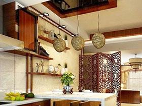 中式風來襲 14張廚房燈具效果圖