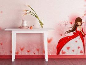 可爱墙壁设计 13款手绘墙效果图