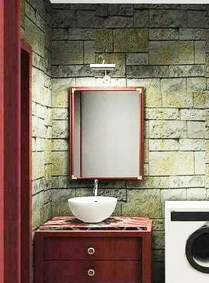 小型浴室柜设计图