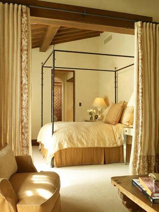 温馨大卧室效果图设计