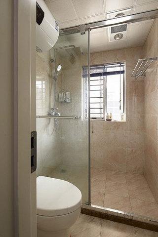 简约干湿分离卫浴间效果图