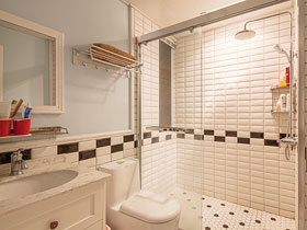 14款卫浴挂件设计 装出清新卫生间