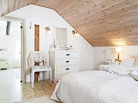 个性宜家风 13张卧室吊顶效果图